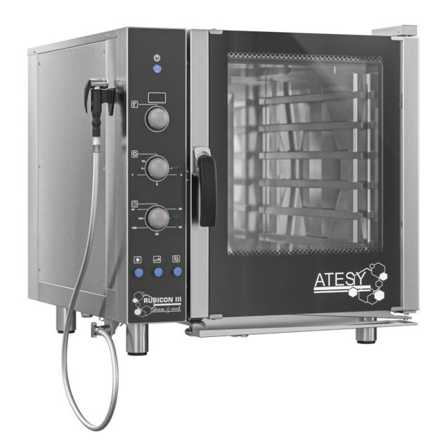 Пароконвектомат Атеси Рубикон АПК-6-1.1-03-1 инжекторный
