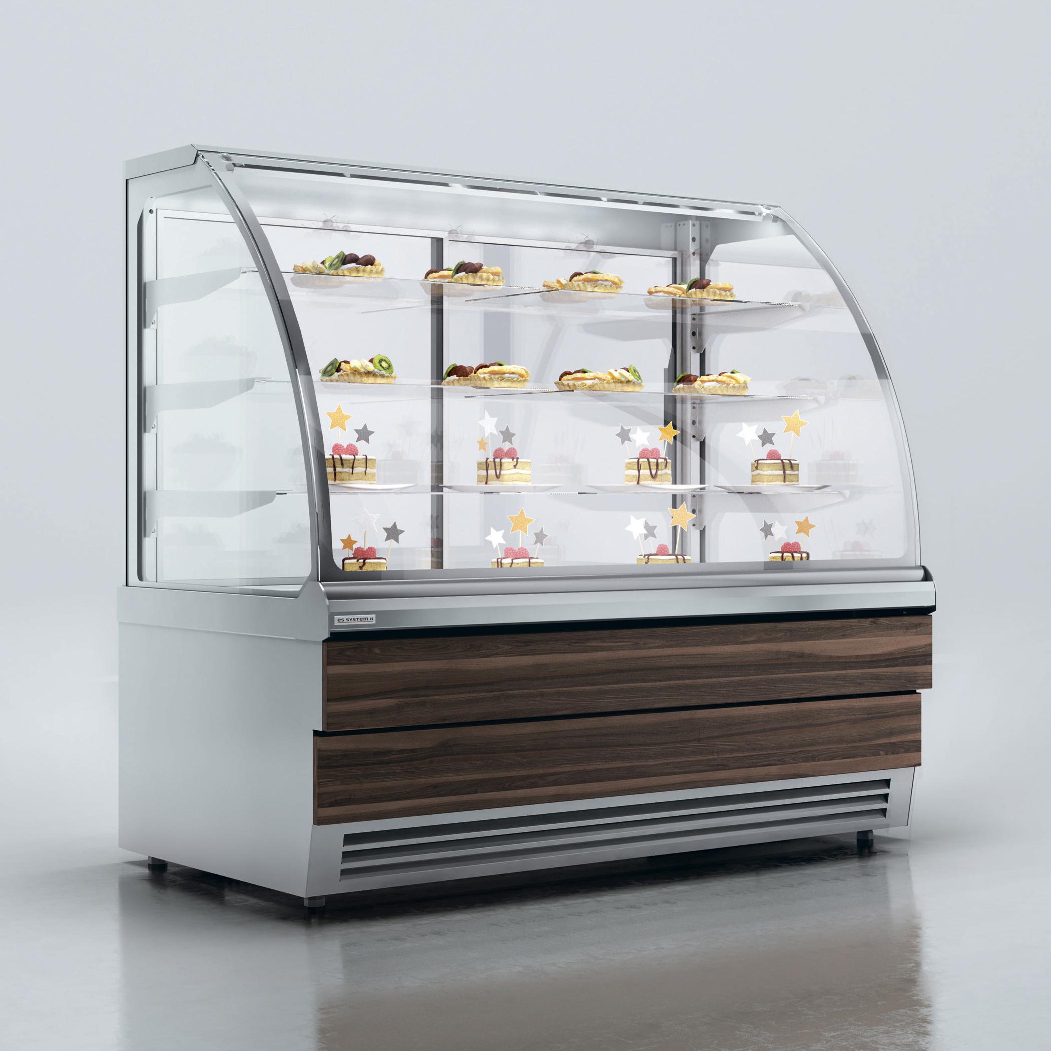 Витрина холодильная ES SYSTEM K LCC Carina 02 EXT 45