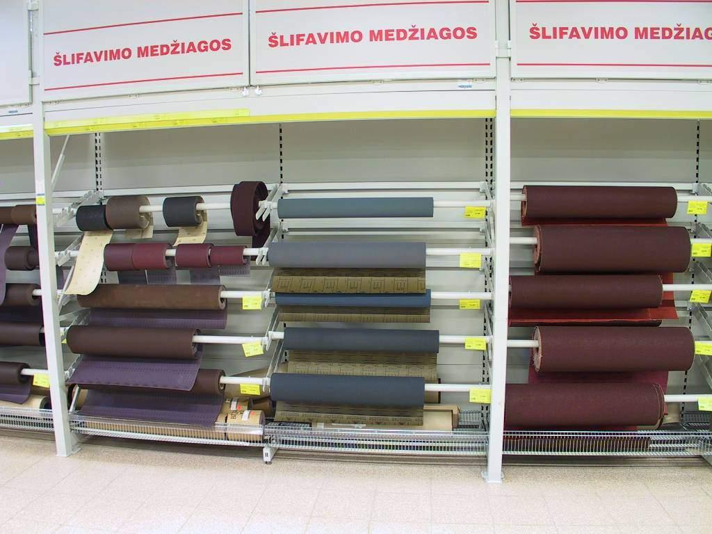 Для строительных магазинов Itab Оборудование для продажи пленки и рулонных материалов. на сайте Белторгхолод