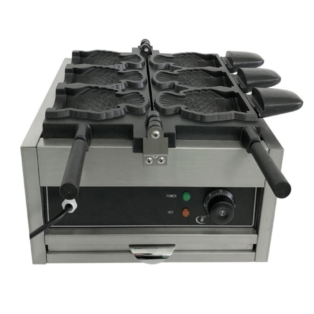 Вафельница для вафель в форме рыбок с начинкой Airhot WBF-3 РЫБКИ