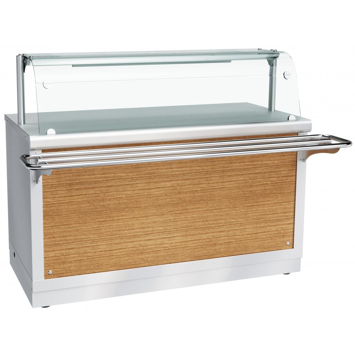 Прилавок-витрина тепловой ЧувашТоргТехника ПВТ-70Х-05