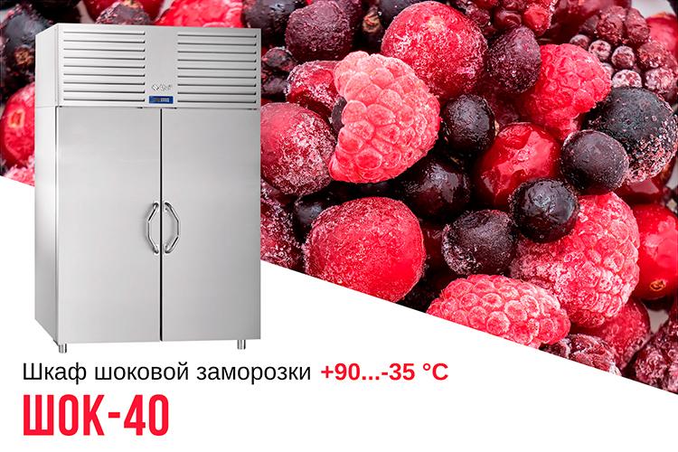 Шкаф шоковой заморозки ЧувашТоргТехника ШОК-40