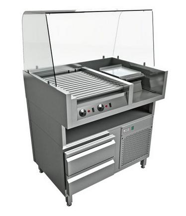 Концептуальные решения instanco Концепция для приготовления хот-догов