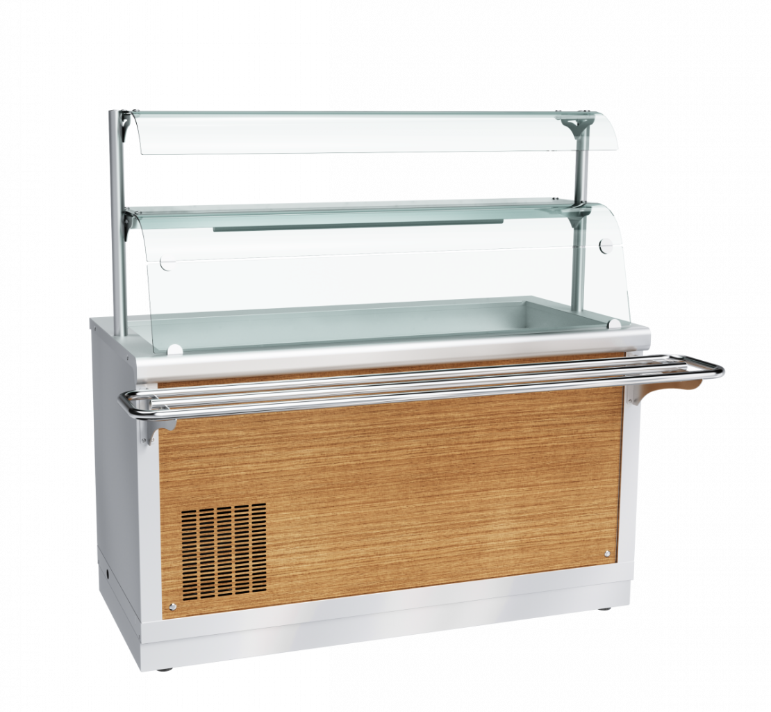 Прилавок холодильный ЧувашТоргТехника ПВВ(Н)-70Х-01-НШ