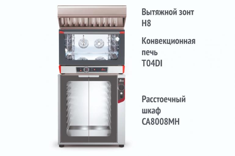 Готовое решение для выпечки кондитерских и хлебобулочных изделий