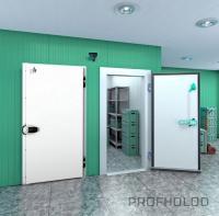 Распашная одностворчатая холодильная дверь (РДО) ПрофХолод