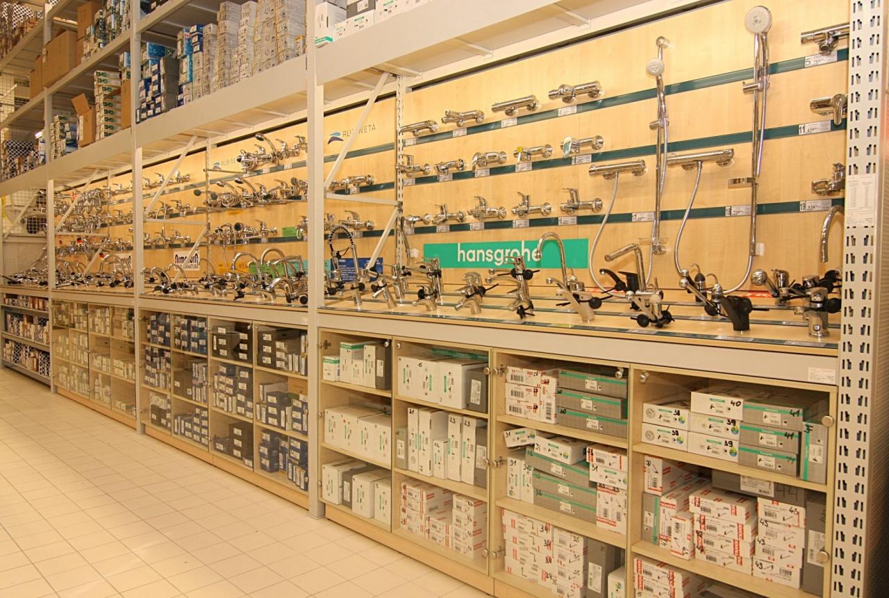 Для строительных магазинов Itab Оборудование для продажи сантехники на сайте Белторгхолод