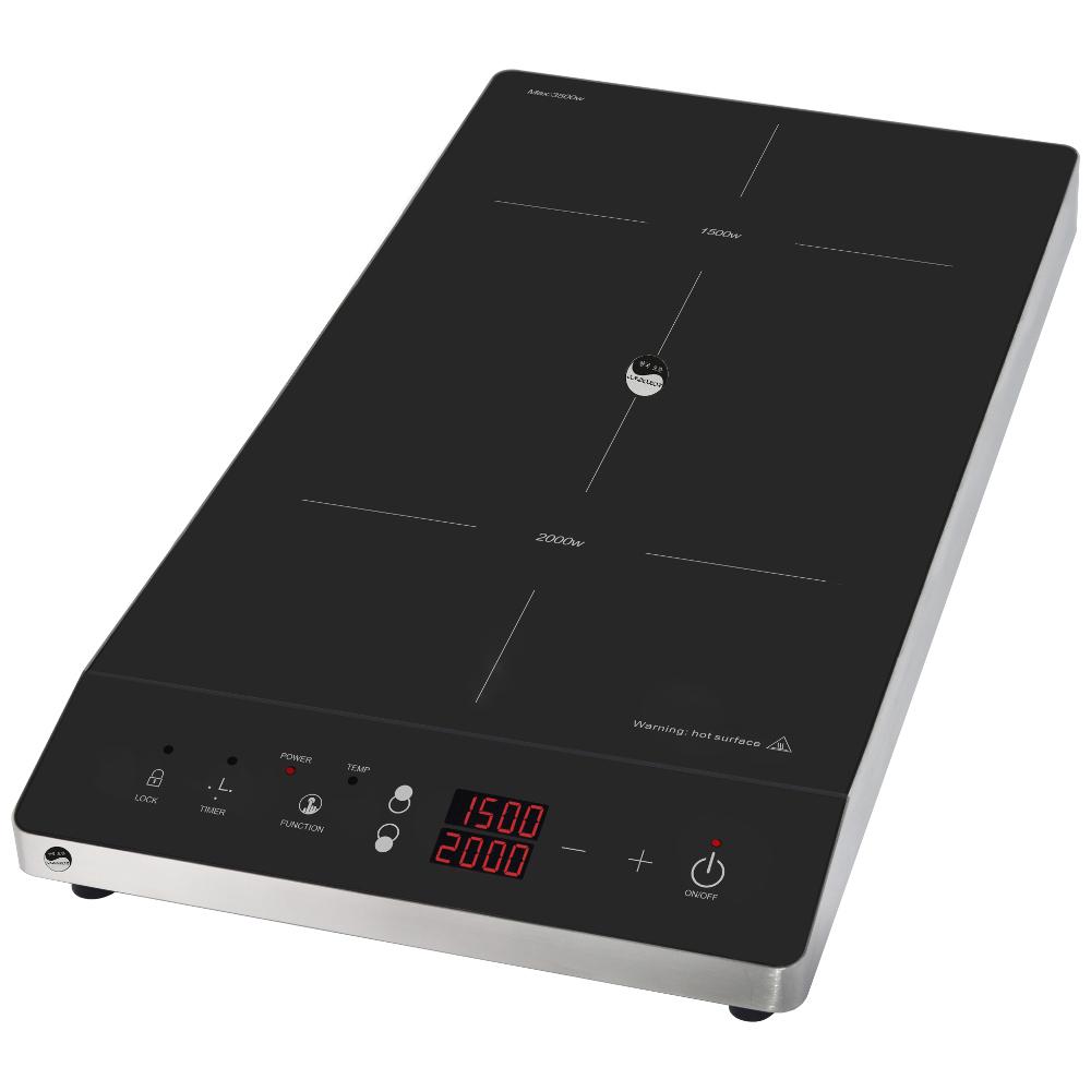 Плита индукционная двухконфорочная INDOKOR IN3500 D