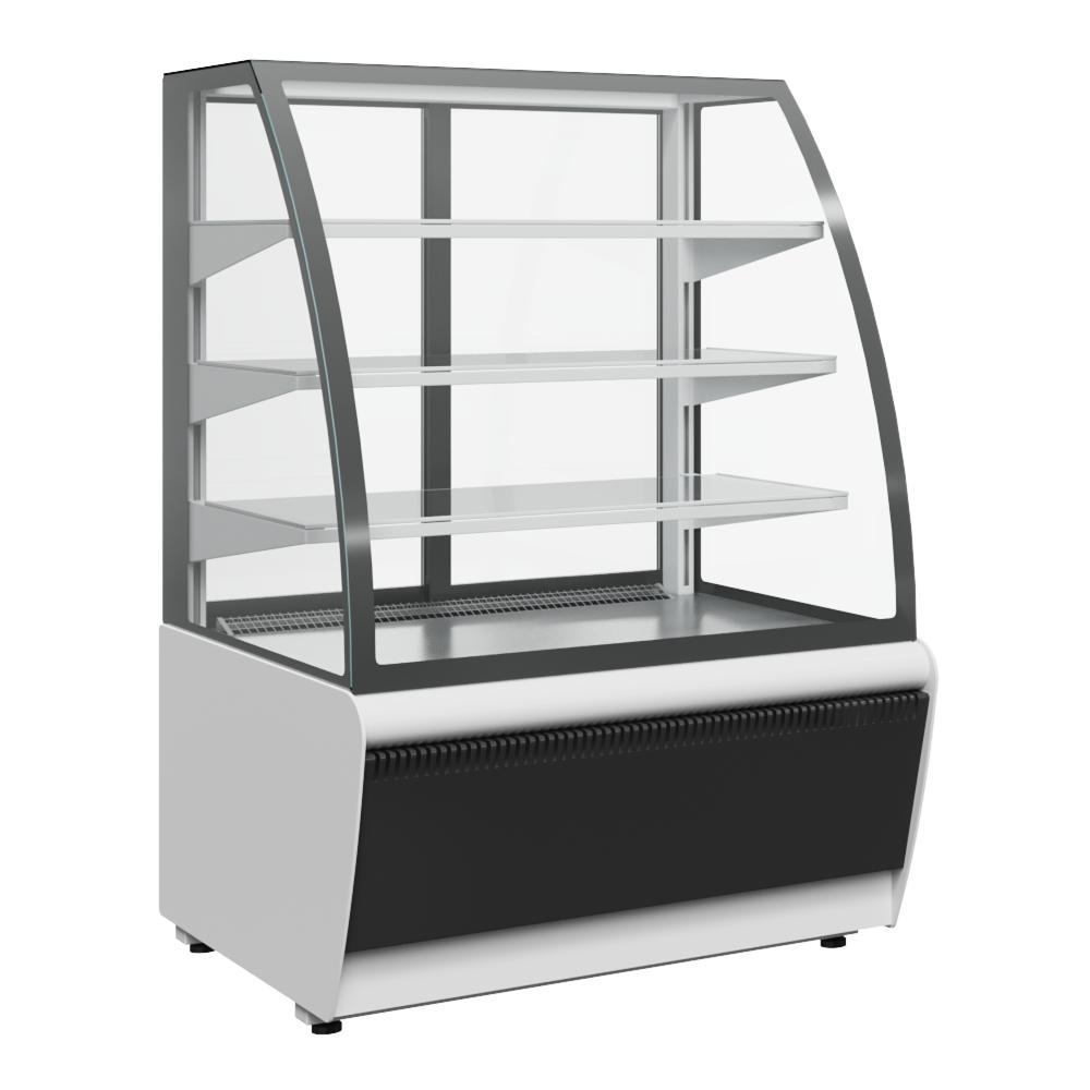 Витрина холодильная Carboma FLANDRIA K70 VV 1,3-1 STANDARD (ВХСв - 1,3д Carboma Люкс) ТЕХНО на сайте Белторгхолод
