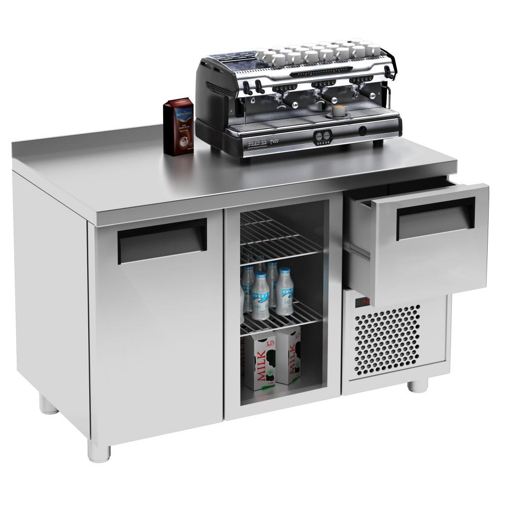 Холодильный стол Carboma 570 COFFEE BAR T57 M2-1-G 0430-1(2)9 (BAR-250С Carboma) на сайте Белторгхолод