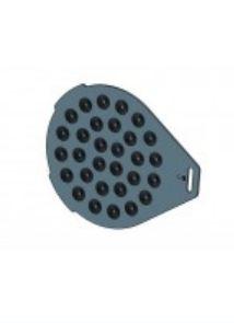 Тестоделитель-округлитель WLBake формовочная пластина для VDR 30