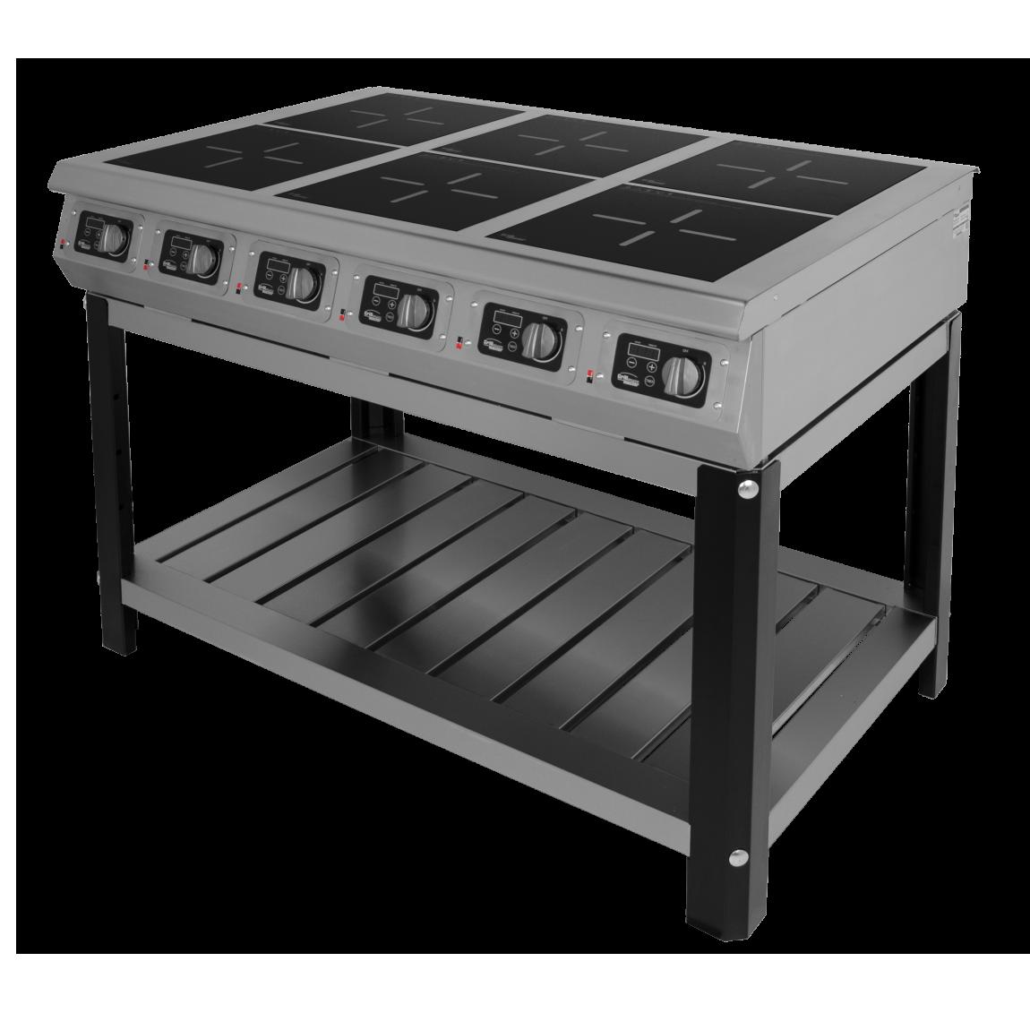 Плита индукционная Гриль Мастер Ф6ИП/800 (на подставке, пнс) (арт. 60012)