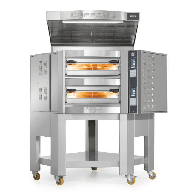 Печь для пиццы Cuppone Caravaggio CR535/2TS
