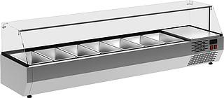 Витрина холодильная Carboma IDO A40 SM 1,6-G 0430 (Carboma VT3v-G) на сайте Белторгхолод