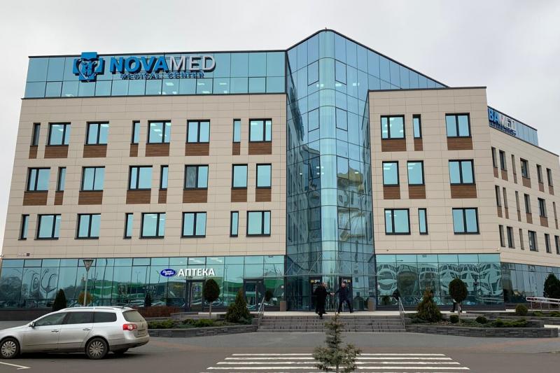 """Монтаж холодильных камер и сплит-систем POLAIR для медицинского центра """"Новамед"""" в Бресте"""