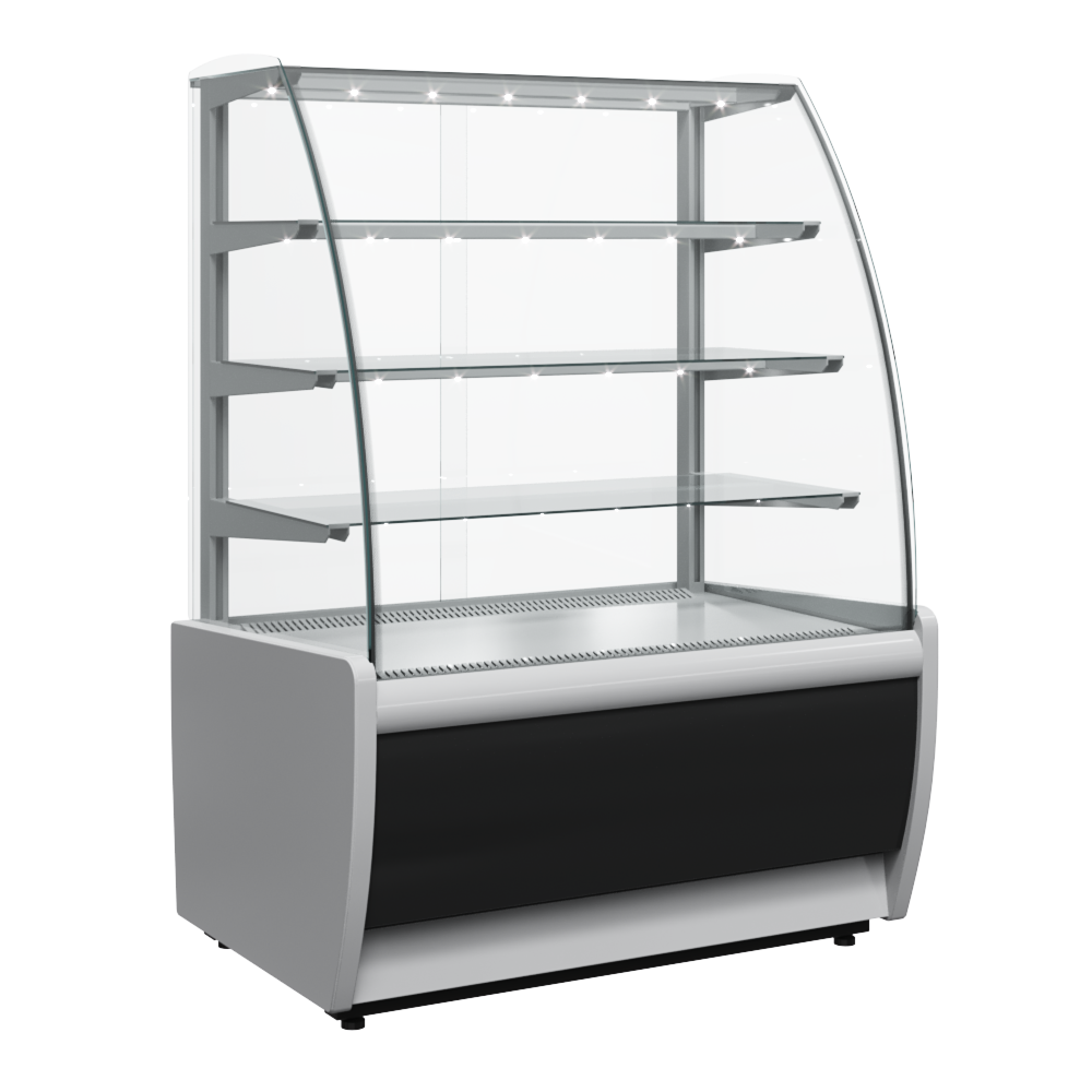 Витрина холодильная Carboma FLANDRIA K70 VM 0,9-1 LIGHT (ВХСв - 0,9д Carboma) ТЕХНО на сайте Белторгхолод