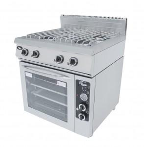 Плита газовая Гриль Мастер 4-х горелочная  Ф4ПДГ/800 с комбинированной духовкой на сайте Белторгхолод