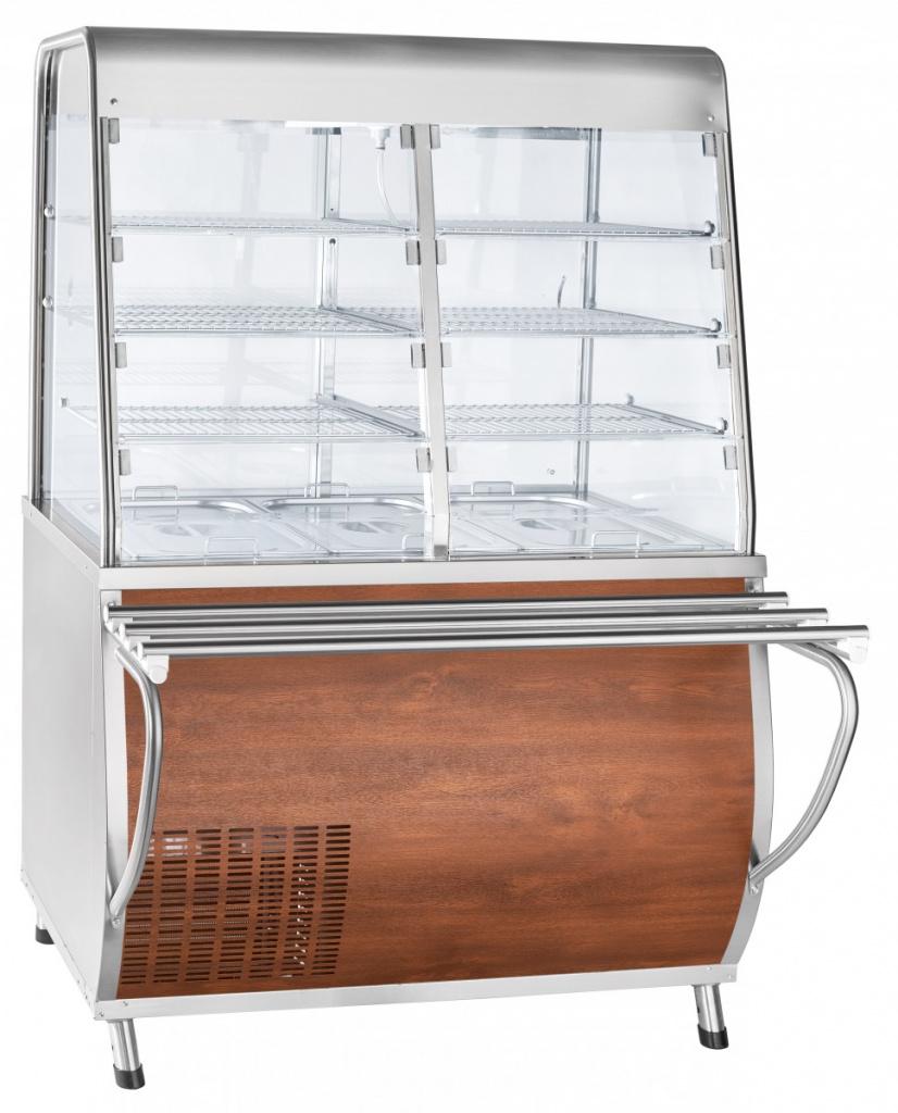 Прилавок-витрина холодильный ЧувашТоргТехника ПВВ(Н)-70Т-С-НШ