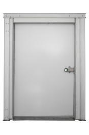 Дверные блоки Polair Дверной блок с контейнерной дверью высота камеры 272 см - 240-256-80