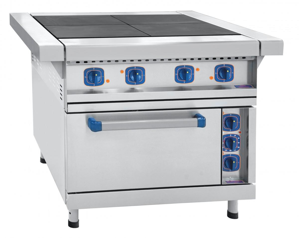 Плита электрическая ЧувашТоргТехника ЭП-4ЖШ-Э (эмалированная духовка)