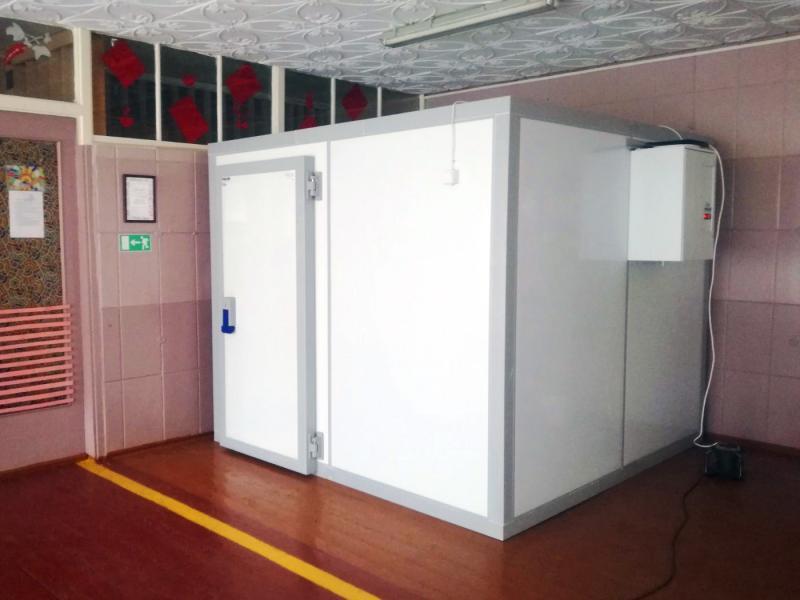 Поставка и монтаж холодильного оборудования для образовательного учреждения