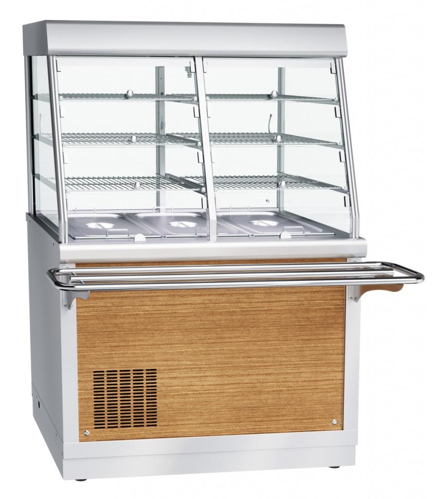 Прилавок-витрина холодильный ЧувашТоргТехника ПВВ(Н)-70Х-С-НШ
