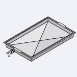 Аксессуары пароконвектомат Rational Поддон для сбора жира со сточным клапаном 1/1 GN (325 x 530 мм) 8710.1135