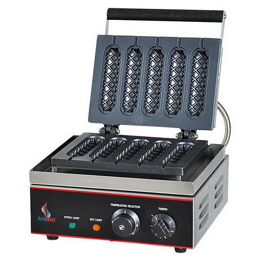 Вафельница для вафель на палочке (корн-догов) Airhot WS-1