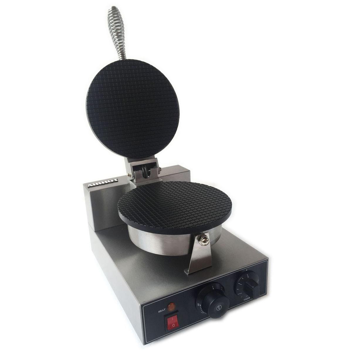 Вафельница для тонкой вафли на рожок Airhot WE-1S