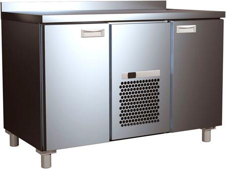 Холодильный стол Полюс 700 RAL ONE SIDE T70 L2-1 9006/9005 (2GN/LT Полюс) на сайте Белторгхолод
