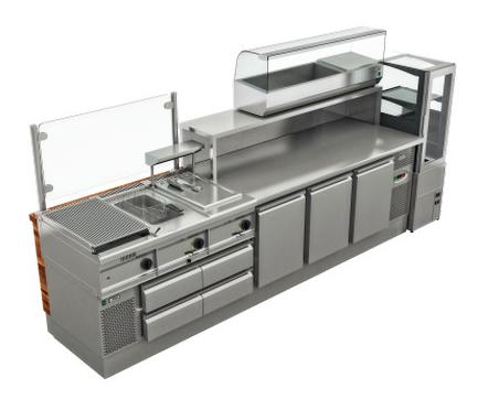 Концептуальные решения instanco Концепция для приготовления бургеров