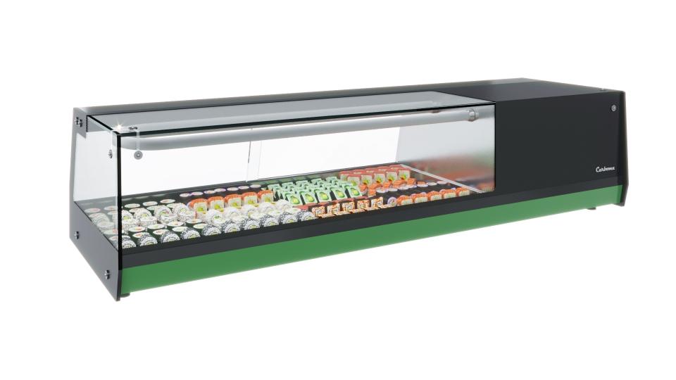 Витрина холодильная Carboma CUBE SUSHI BAR AC37 SM 1,0-1 Sushi на сайте Белторгхолод