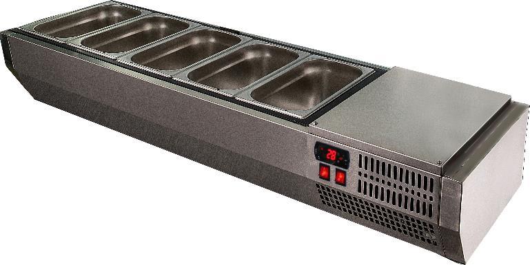 Витрина холодильная POLAIR VT2-G