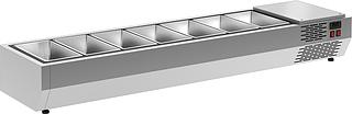Витрина холодильная Carboma IDO A40 SM 1,6 0430 (Carboma VT3-G) на сайте Белторгхолод