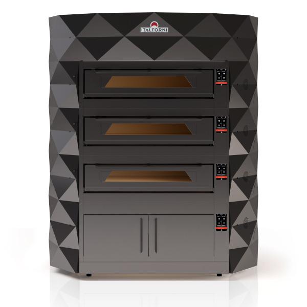 Печь для пиццы Italforni DIAMOND 3-DIA CS