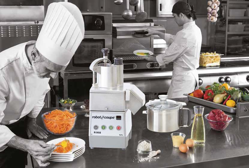 Новинки оборудования Robot Coupe 2021 — кухонные процессоры, куттеры, бликсер!