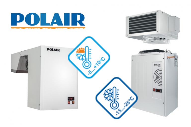 Расширение диапазона температурного режима холодильных машин POLAIR