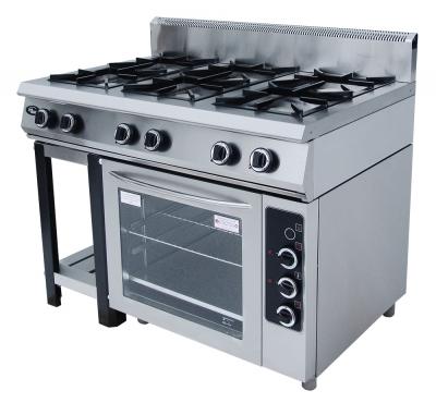 Плита газовая Гриль Мастер Ф6ЖТЛПДГ(г) с духовкой - полностью газовая духовка