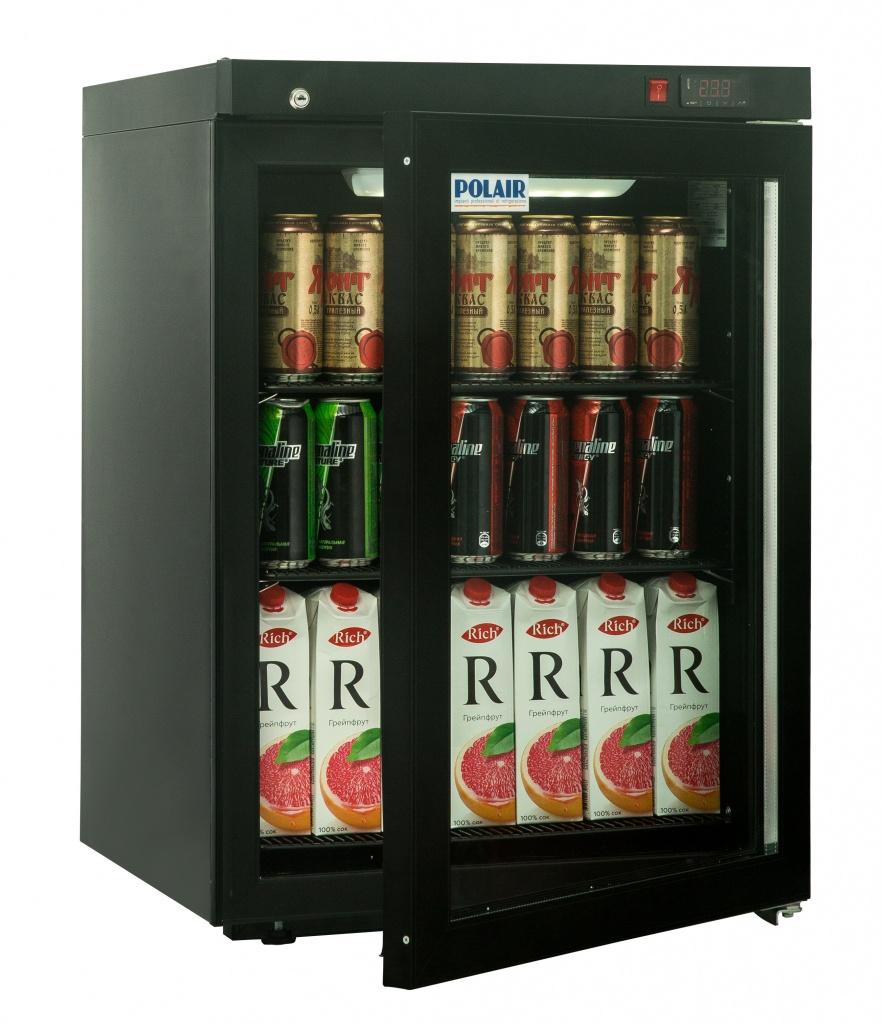 Шкаф холодильный POLAIR DM102-Bravo черный с замком на сайте Белторгхолод