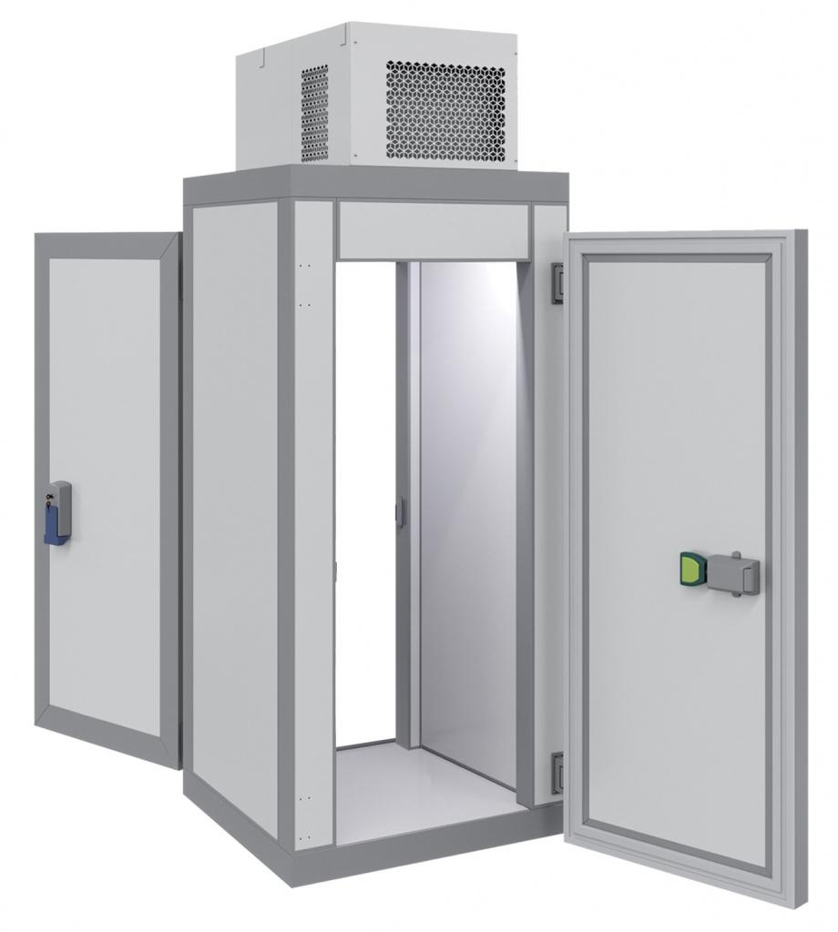 Холодильная камера POLAIR КХН-1,28 Мinicellа ММ 2 двери на сайте Белторгхолод