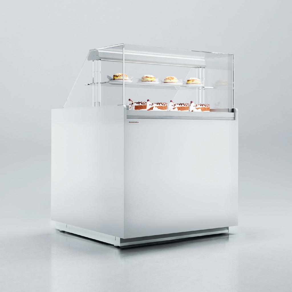 Витрина холодильная ES SYSTEM K LCV Volans 02 1,3 CHOCO на сайте Белторгхолод