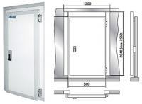 Дверные блоки Polair Дверной блок с распашной дверью POLAIR 120-256-100