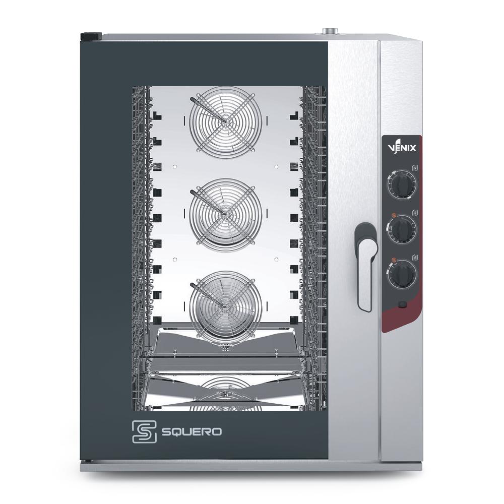 Пароконвектомат VENIX SQUERO MANUAL SQ12M00