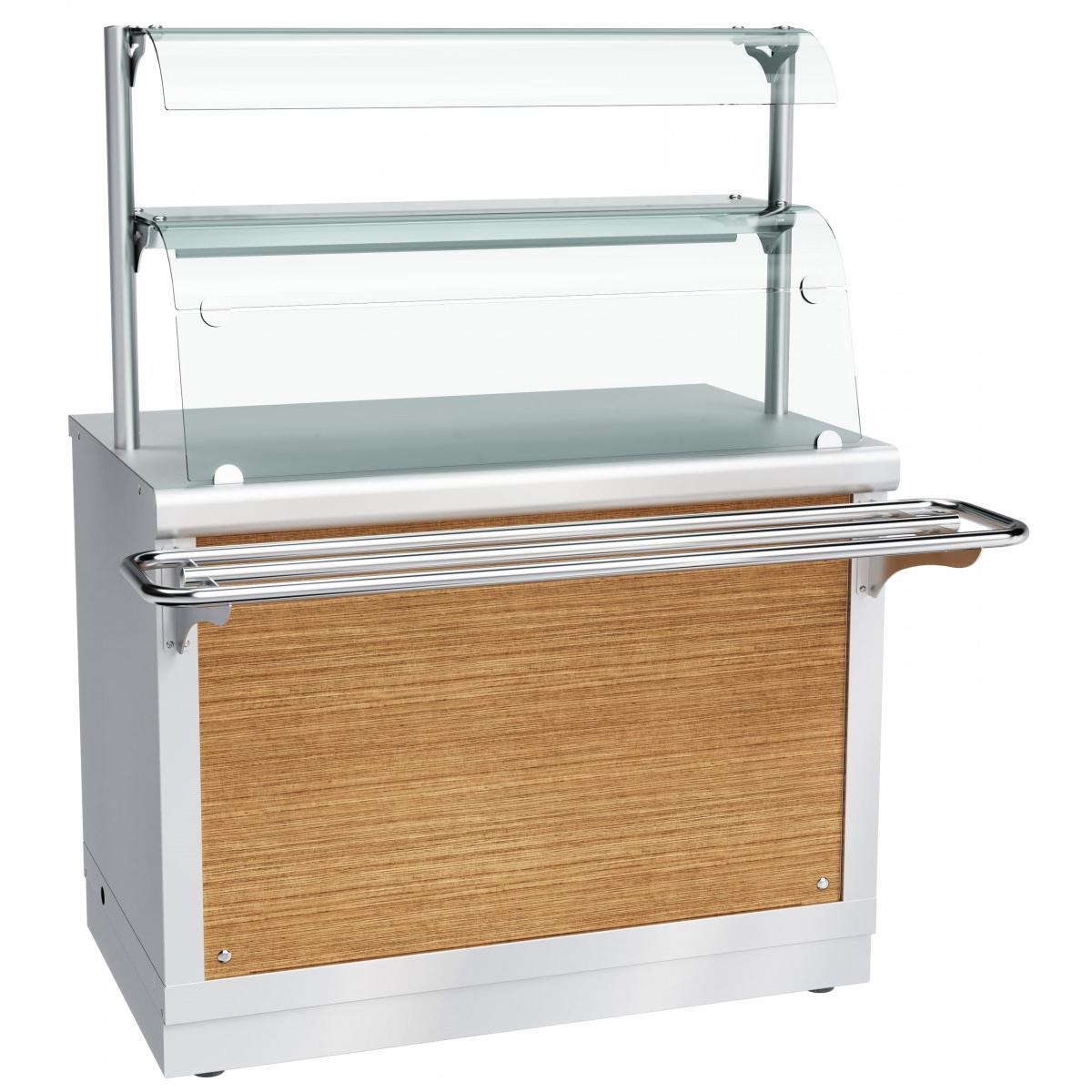 Прилавок-витрина тепловой ЧувашТоргТехника ПВТ-70Х-06