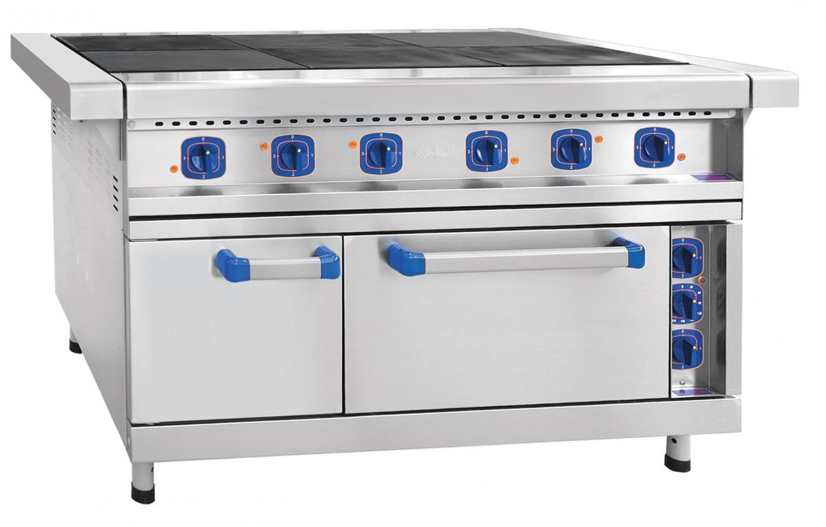 Плита электрическая ЧувашТоргТехника ЭП-6ЖШ-Э (эмалированная духовка)