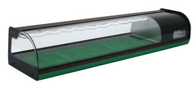 Витрина холодильная Carboma SUSHI BAR A37 SM 1,5-1 Sushi (ВХСв-1,5 суши-кейс) на сайте Белторгхолод
