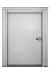 Дверные блоки Polair Дверной блок с контейнерной дверью высота камеры  220 см - 180-204-80