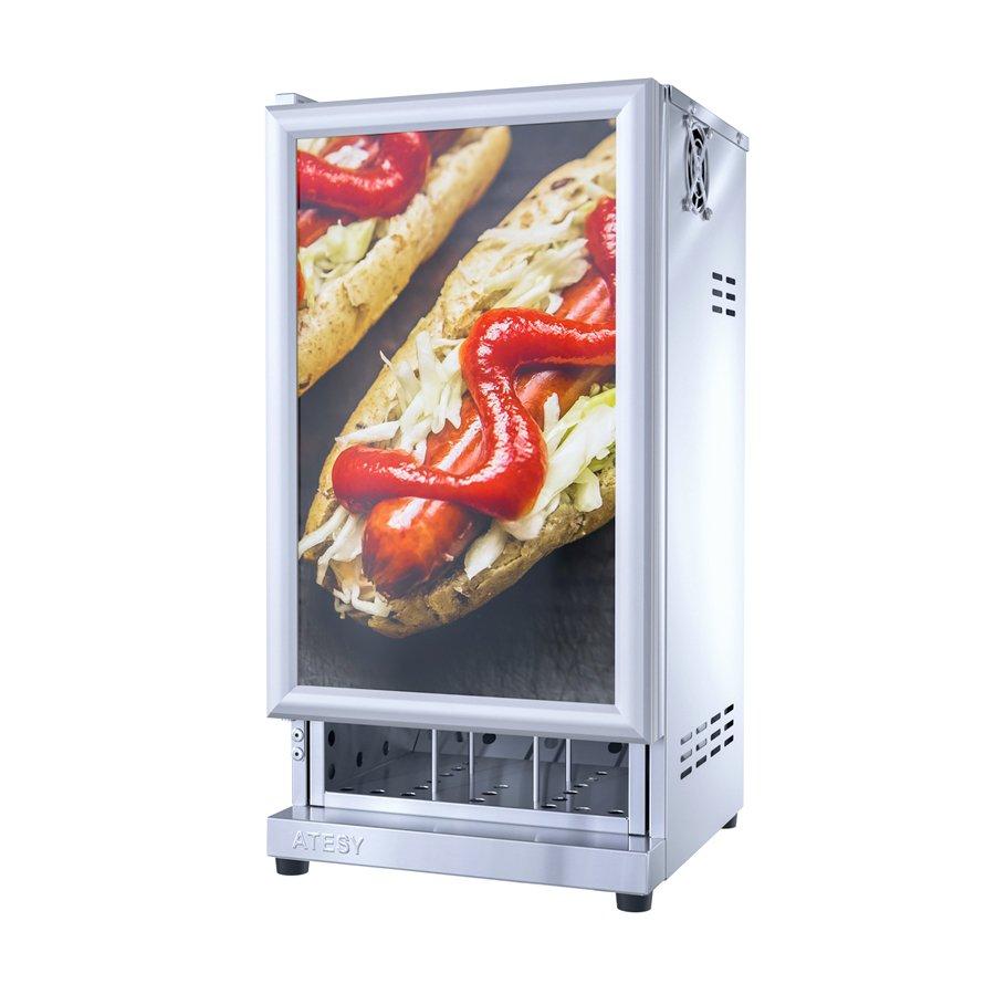 Шкаф тепловой для пирожков и хот-догов Атеси Фиолент ШТХ-24-350.350-01