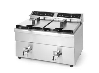 Фритюрница Hendi индукционная Kitchen Line - двойная 215029