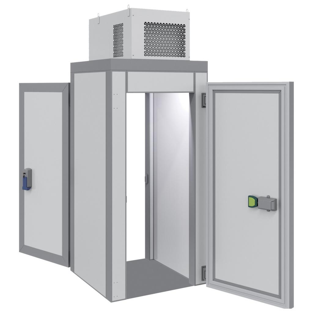 Холодильная камера POLAIR КХН-1,28 Мinicellа ММ 2 двери без пола на сайте Белторгхолод